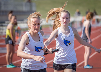 20180405-160918 Jerry Crews Invitational - 4x800 Relay - Girls
