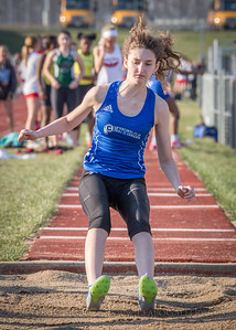 20180405-175119 Jerry Crews Invitational - Long Jump - Girls