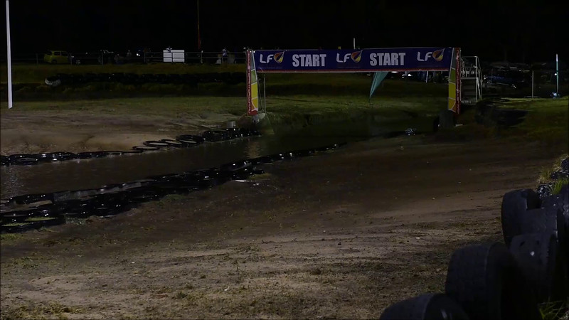 Nigel Johnson driving his heart out in a crazy fast lap. The problem is he drives so smoothly that it doesn't look that fast. But trust me it is!!