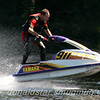 DOn Morningstar re living yester year on Carmines 1200cc monster ski. Crack the throttle and you are out of the water....