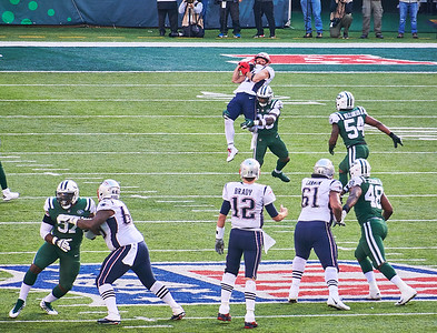 Nov.25, 2018, 2018 - Met Life Stadium Rutherford NJ. Jets vs. Patriots NFL Game at MetLife  Photographer- Robert Altman Post-production- Robert Altman