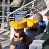 Lots of Cheese Heads at the game.