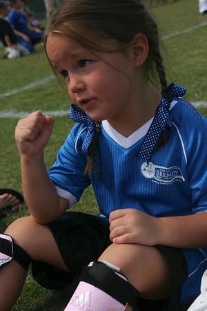 Jillian's 1st Soccer Game