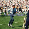 Penn State football coach Joe Paterno at Beaver Stadium in the fall of 1991 in State College, Pa.