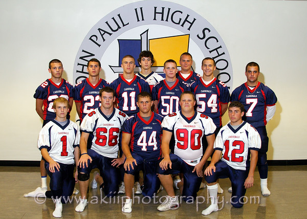 John Paul II High School seniors