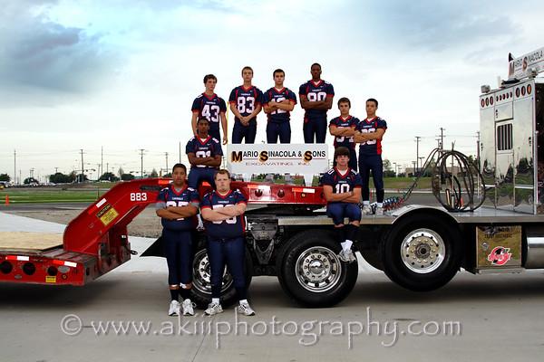 John Paul II High School 2008 football team