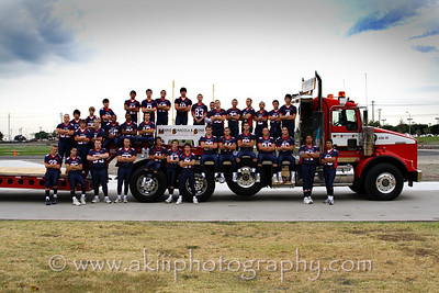 John Paul II High School 2008 football team