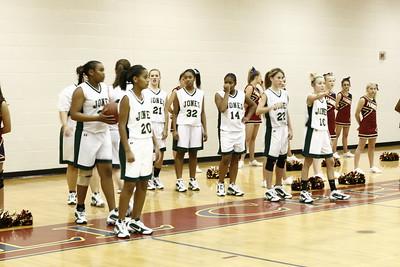 Jones Middle School VS Mill Creek Hawks (basketball)