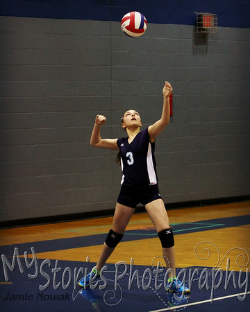 Jr. High Volleyball 2014