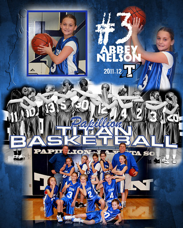Jr Titans Girls Basketball Grades 4-8 (2011-12)