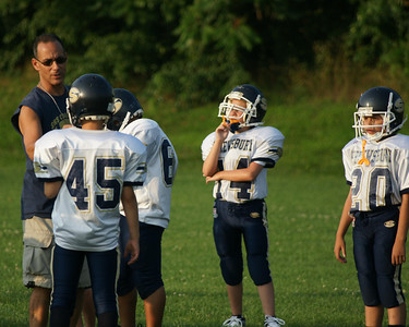 Shrewsbury Pop Warner Jr PeeWee Preseason Games