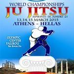 Ju-Jitsu Wereld Kapioenschap Athene 2015