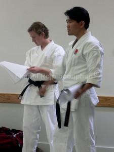 Judging Seminar South SF 2007 Shinkyu Shotokan Tournament