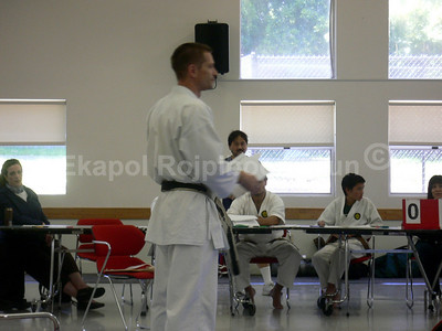 Judging Seminar South SF 2007 Shinkyu Shotokan Tournament