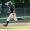 6-5-12<br /> Post 6 Baseball at Highland Park CFD Stadium.<br /> Austin Edwards heading for 3rd.<br /> KT photo | Tim Bath