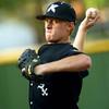 6-5-12<br /> Post 6 Baseball at Highland Park CFD Stadium.<br /> Bryce Rainey pitching<br /> KT photo | Tim Bath