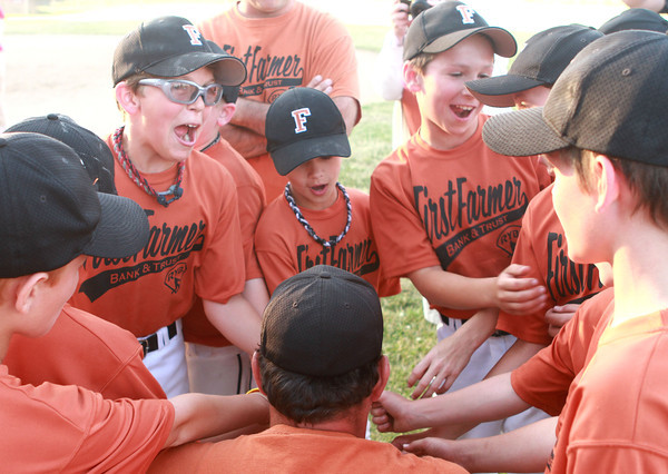 6-14-12<br /> Minor league championship between First Farmer and Bullpen<br /> <br /> KT photo | Kelly Lafferty