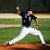 7-9-14<br /> American Legion baseball<br /> Evan Warden pitches.<br /> Kelly Lafferty | Kokomo Tribune