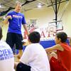 7-23-14 <br /> KHS boys basketball coach Matt Moore holding a basketball clinic for kids in grade 1-8.<br /> Tim Bath | Kokomo Tribune