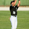 7-9-14<br /> American Legion baseball<br /> Tyler Goudy makes a catch for an out.<br /> Kelly Lafferty | Kokomo Tribune