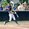 Teutopolis' Kadi Borries lifts a fly ball during the Lady Shoes' 2-1 win over Carterville at the Class 2A Johnston City Super-Sectional.