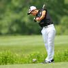 6-9-14   --- Golf Sectional.  Kokomo, Peru and Western HS. Tyler White, WHS on hole # 8.--<br />   Tim Bath | Kokomo Tribune