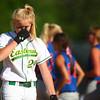 5-31-14<br /> Eastern softball sectional<br /> Eastern's Ashlynn Hochstedler reacts after the loss to Elwood.<br /> Kelly Lafferty   Kokomo Tribune