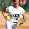 5-30-14<br /> Western Sectional softball<br /> Western's Caitlyn O'Neal runs the ball back to first for an out.<br /> Kelly Lafferty   Kokomo Tribune