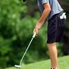 6-9-14   --- Golf Sectional.  Kokomo, Peru and Western HS. Zach Watterson, KHS on hole # 10.--<br />   Tim Bath | Kokomo Tribune