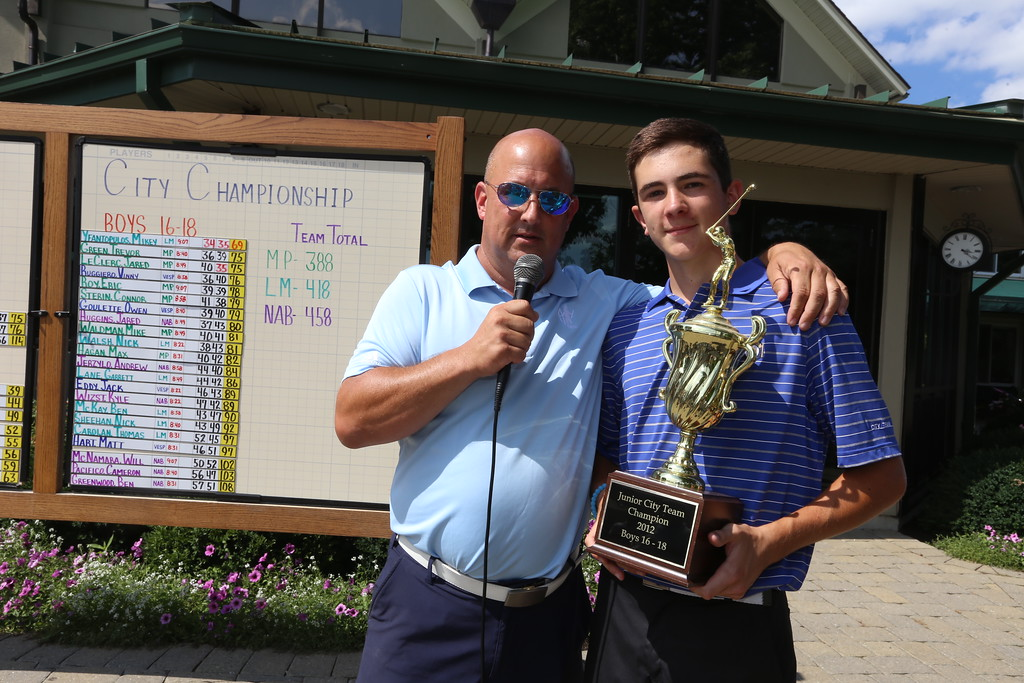 . Lowell Junior City Golf Tournament at Mount Pleasant. (SUN/Julia Malakie)
