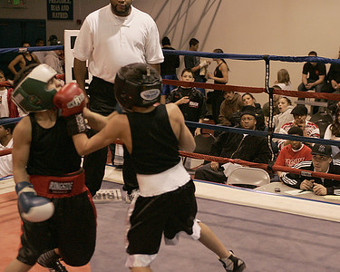 Junior Golden Gloves Jan 07 Sunday Session bouts 1-13
