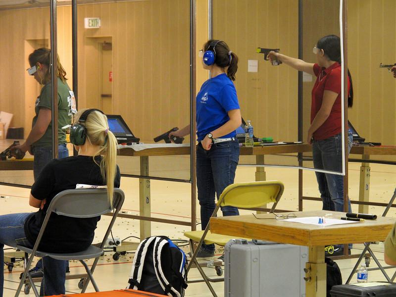 Sport Pistol competition