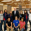 Women finals - group with Gary Andersen (photo by USAShooting)
