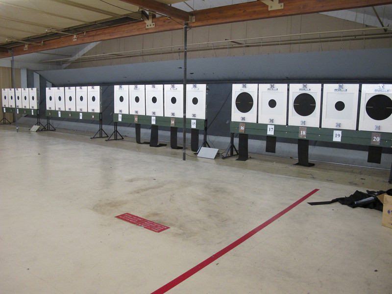 Electronic targets for 25 and 50 meters