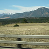 Road from Denver to Colorado Springs