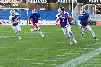 Junior Bowl 2013 - Louis Lech Nissen nr 7 - Andre Broe Houdet nr 30