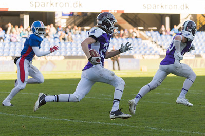 Junior Bowl 2013 - Touchdown run, Anton Witmeur nr 21