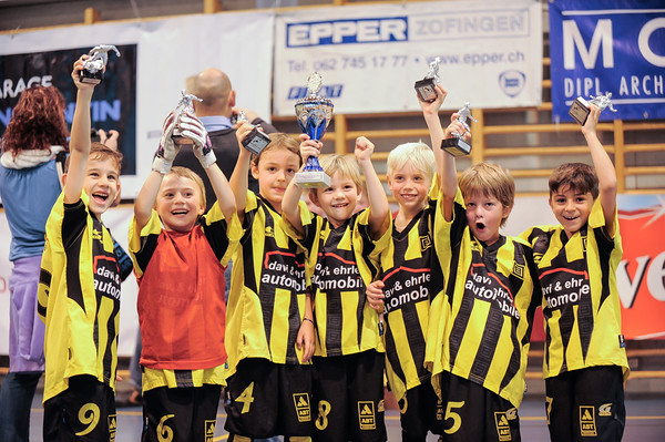 G-Junioren am Kaiserangst Cup