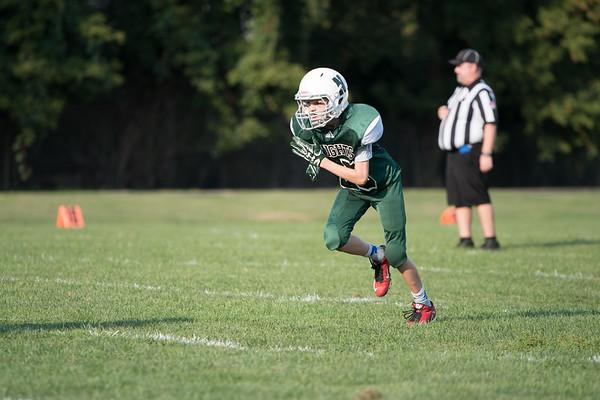 Justin 7th Grade Football vs. Stow