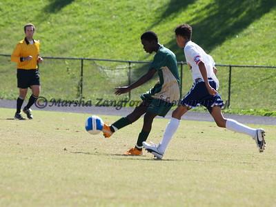 jv jfk soccer vs. bcc