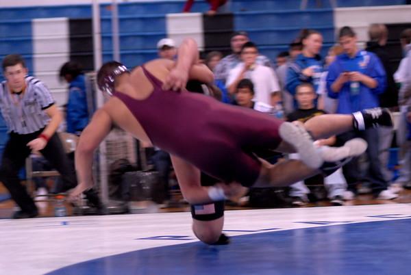 KHS Wrestling at Warden