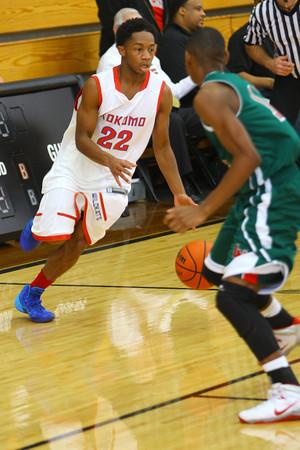 12-27-13   ---  Kokomo HS vs Lawrence North HS Boys Basketball.<br /> <br />   KT photo | Tim Bath