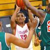 12-27-13   ---  Kokomo HS vs Lawrence North HS Boys Basketball. Jordan Matthews shooting.<br /> <br />   KT photo | Tim Bath