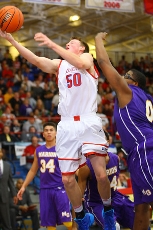 12-20-13   ---  Kokomo HS vs Marion HS boys basketball<br />   KT photo | Tim Bath