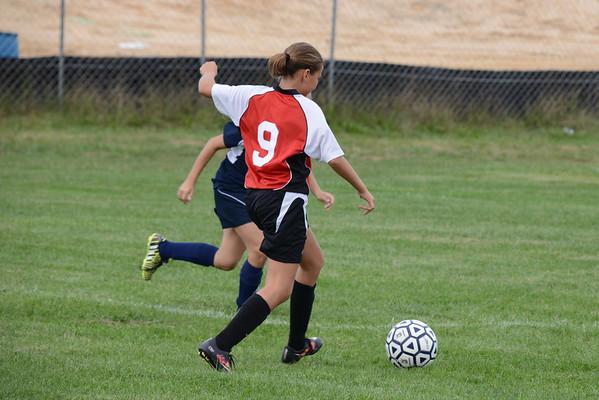 KRMS Soccer 9-24-16 vs Clayton