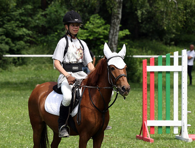 Kacka's horse riding competition in June 2012 in Liberec.