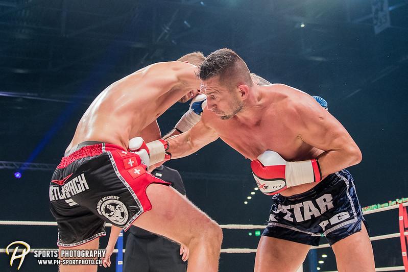 Andy Hug Memorial - K-1 World Light Heavyweight Championship: Janosch Nietlispach (SUI) vs. Petar Majstorovic (SUI) - Bild-ID: 201706102911