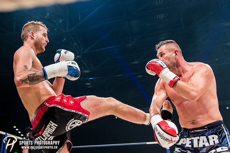 Andy Hug Memorial - K-1 World Light Heavyweight Championship: Janosch Nietlispach (SUI) vs. Petar Majstorovic (SUI) - Bild-ID: 201706102901