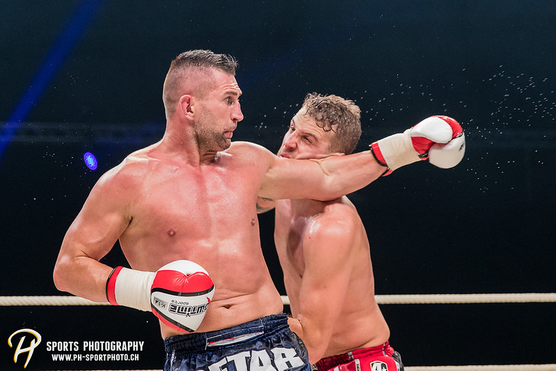 Andy Hug Memorial - K-1 World Light Heavyweight Championship: Janosch Nietlispach (SUI) vs. Petar Majstorovic (SUI) - Bild-ID: 201706102919