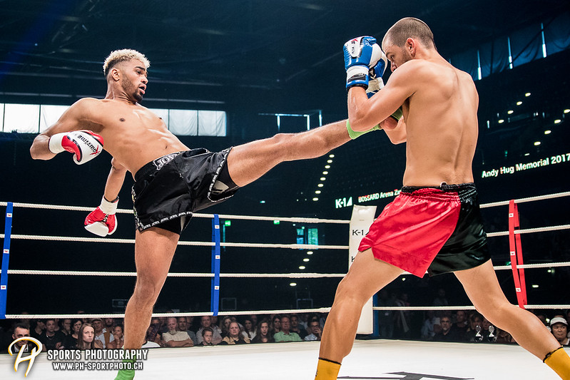 Andy Hug Memorial - K-1 bis 82.5 kg: Dani Traore (GER) vs. Luis Leite (POR) - Bild-ID: 20170610796